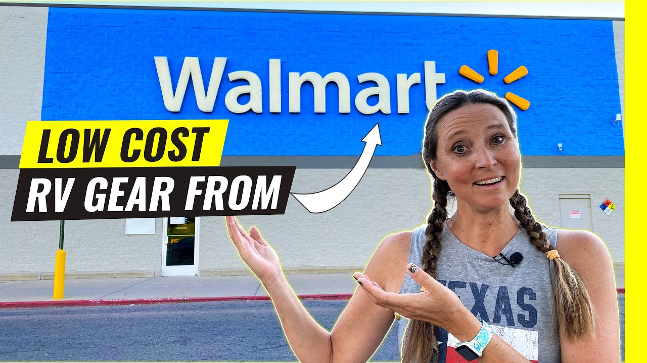 RV Gear MUST HAVES From WalMart! 9 Quality Accessories For Cheap
