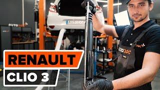 Montaje Amortiguadores traseros RENAULT CLIO III (BR0/1, CR0/1): vídeo gratis