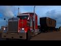 American Dream #35 Carga exceso de dimensiones! Kenworth W900 México American Truck Simulator