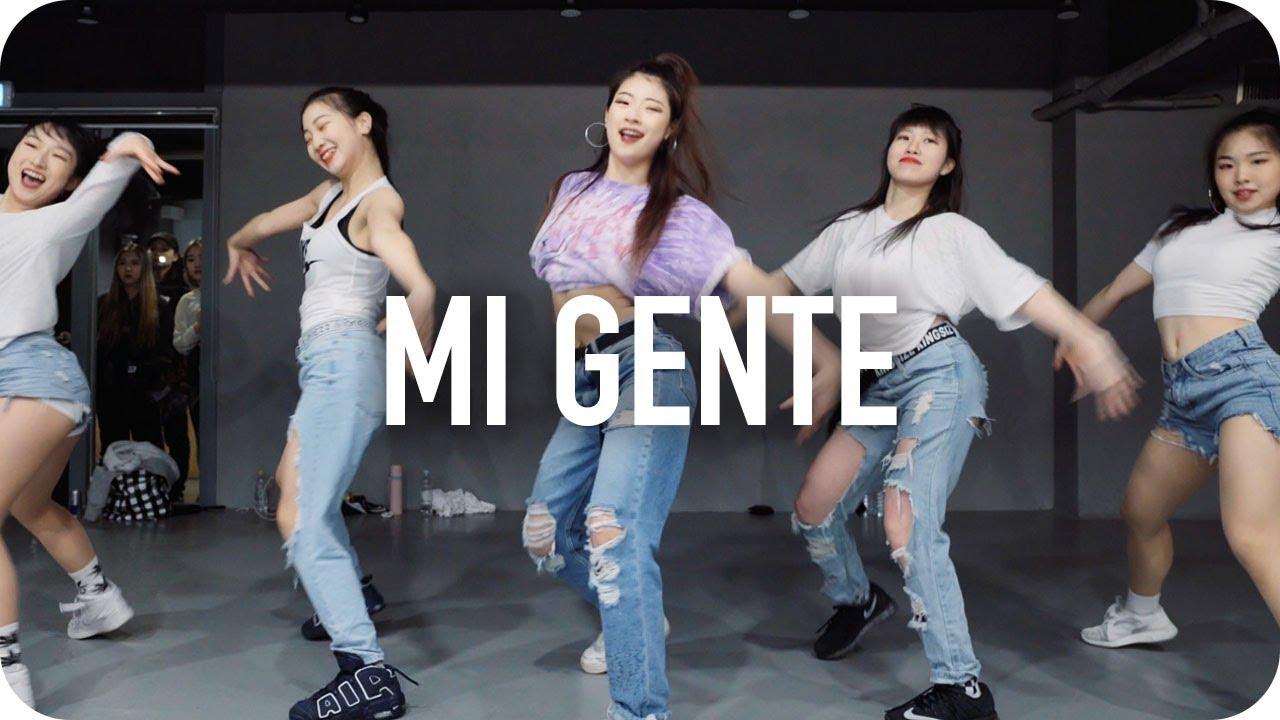 Mi Gente J Balvin Willy William Ft Beyonce Youjin Kim Choreography