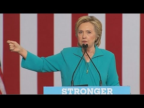 Hillary Clinton rips into Nigel Farage after Trump appearance