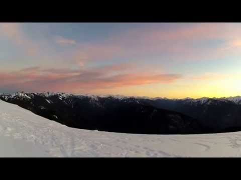 Enjoy Hurricane Ridge Sunset (Olympic Mountains)