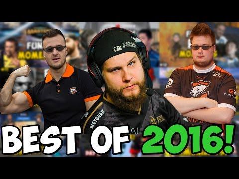 CS:GO - BEST OF FUNNY PRO MOMENTS 2016!