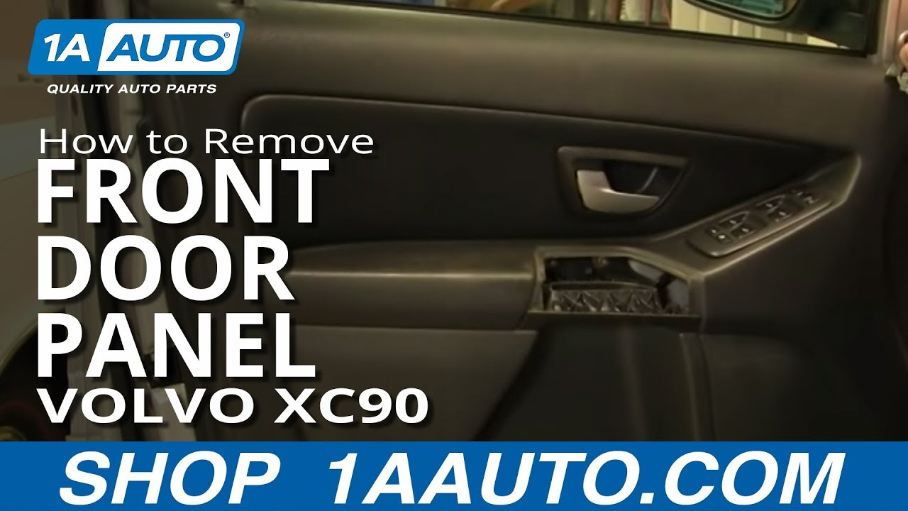 How To Install Replace Remove Front Door Panel Volvo XC90 03-12 ...