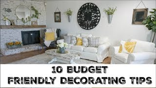 Decorating Your Home On A Budget | 10 Tips To Look Expensive On A Budget | Momma From Scratch