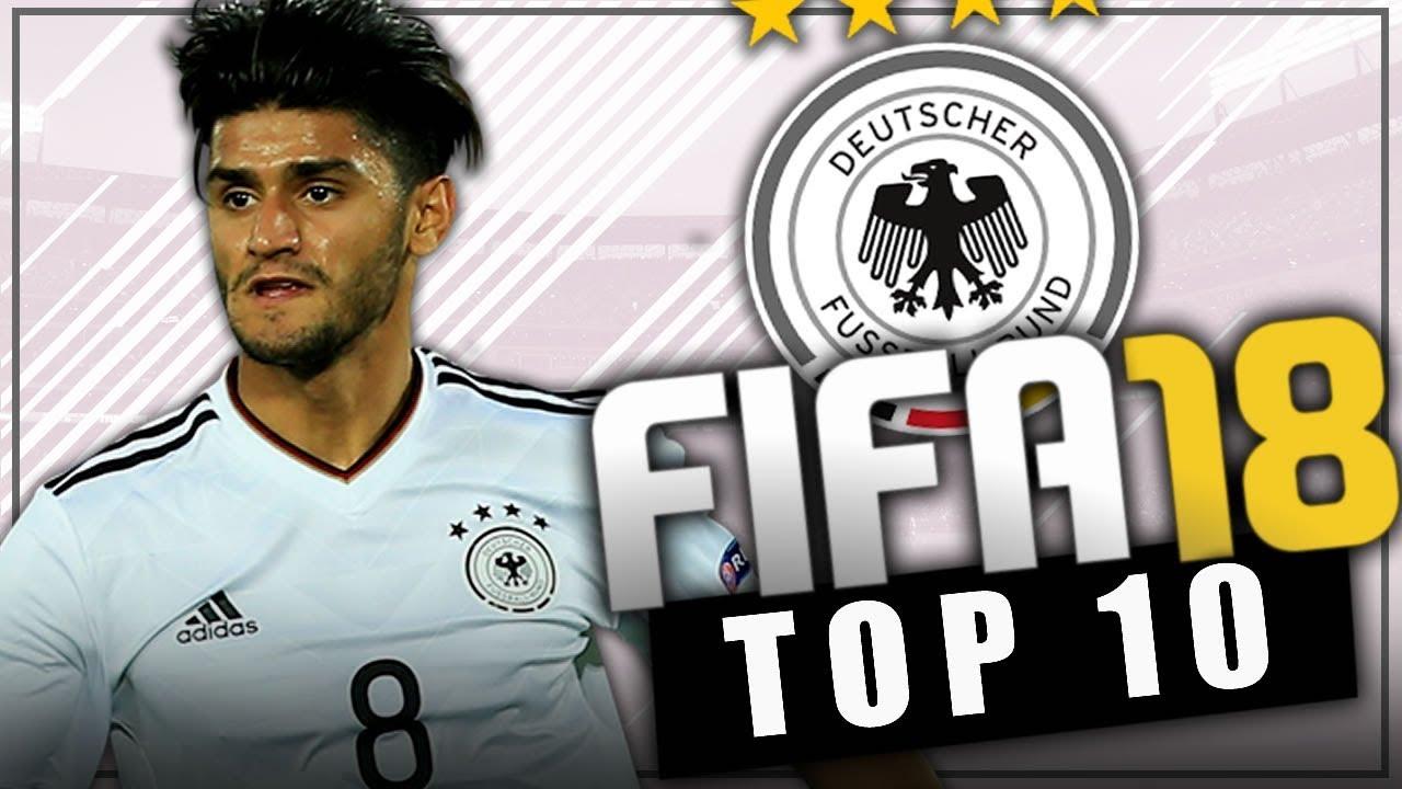 Fifa 18 top 10 jovenes promesas de alemania modo for Esteban paredes fifa 18