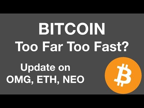 Bitcoin over $4000 – Too Far Too Fast? | Update on NEO, OMG, ETH