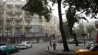 Konya'daki Şiddetli Rüzgar!