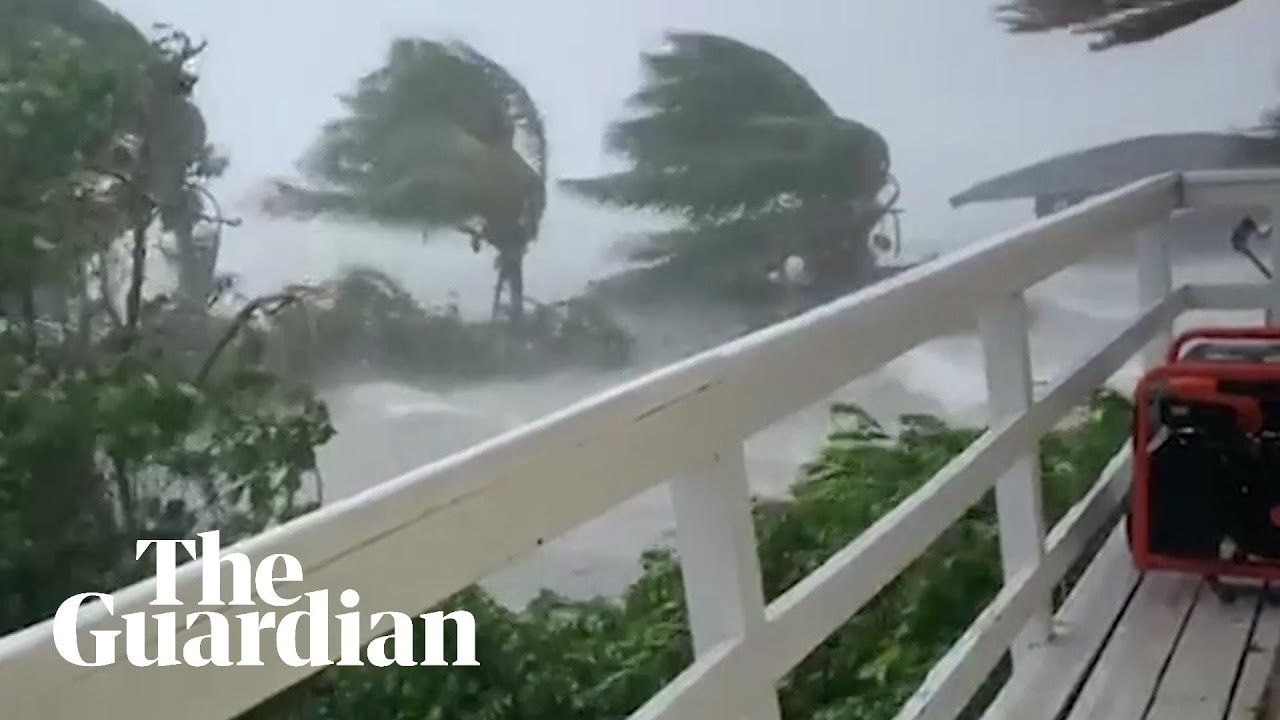 Hurricane Dorian leaves trail of destruction across the Bahamas