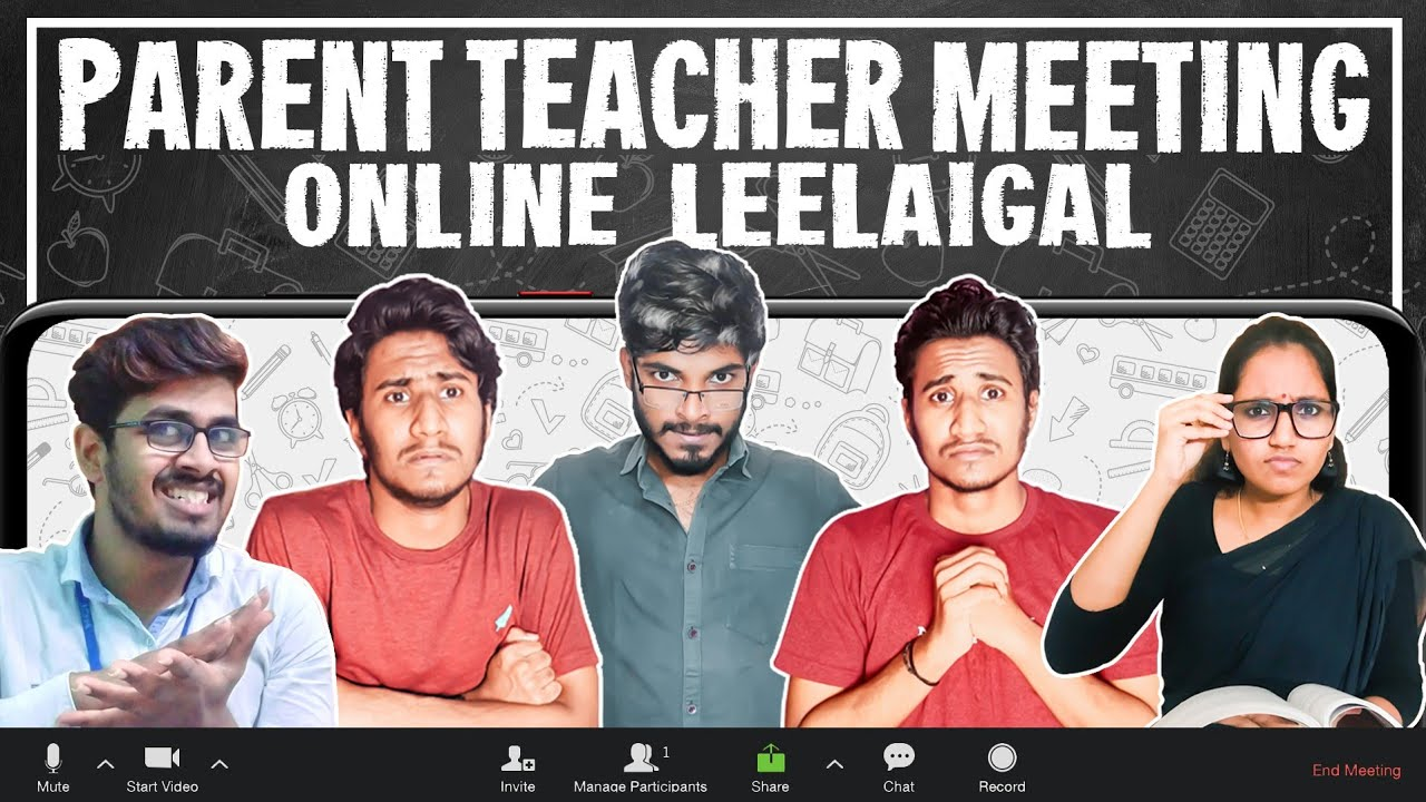 Parent Teacher Meeting Online |Leelaigal| Laughing Soda