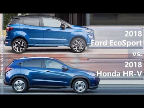 2018 Ford Ecosport Vs 2018 Honda Hr V Technical Comparison Youtube