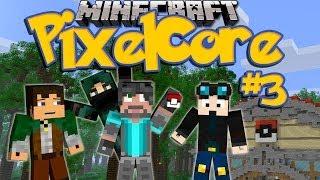 Minecraft: Pixelmon SMP Ep. 3 - Catching Pikachu, Pokedex!