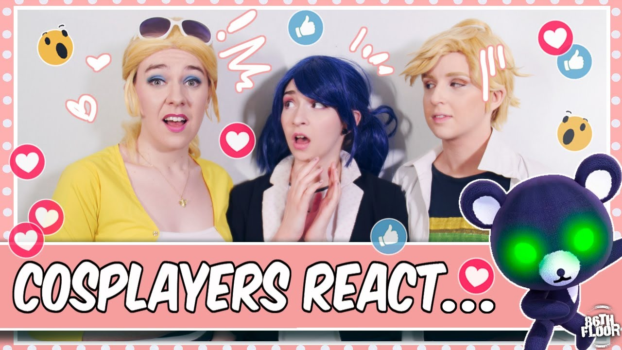 Cosplayers React to Miraculous Ladybug - Despair Bear 🐻