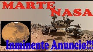 ALERTA Anuncio NASA descubrimiento VIDA en Marte