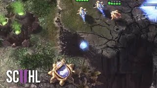 The Dirtiest Cannon Rush - Starcraft 2: Neeb vs Puck