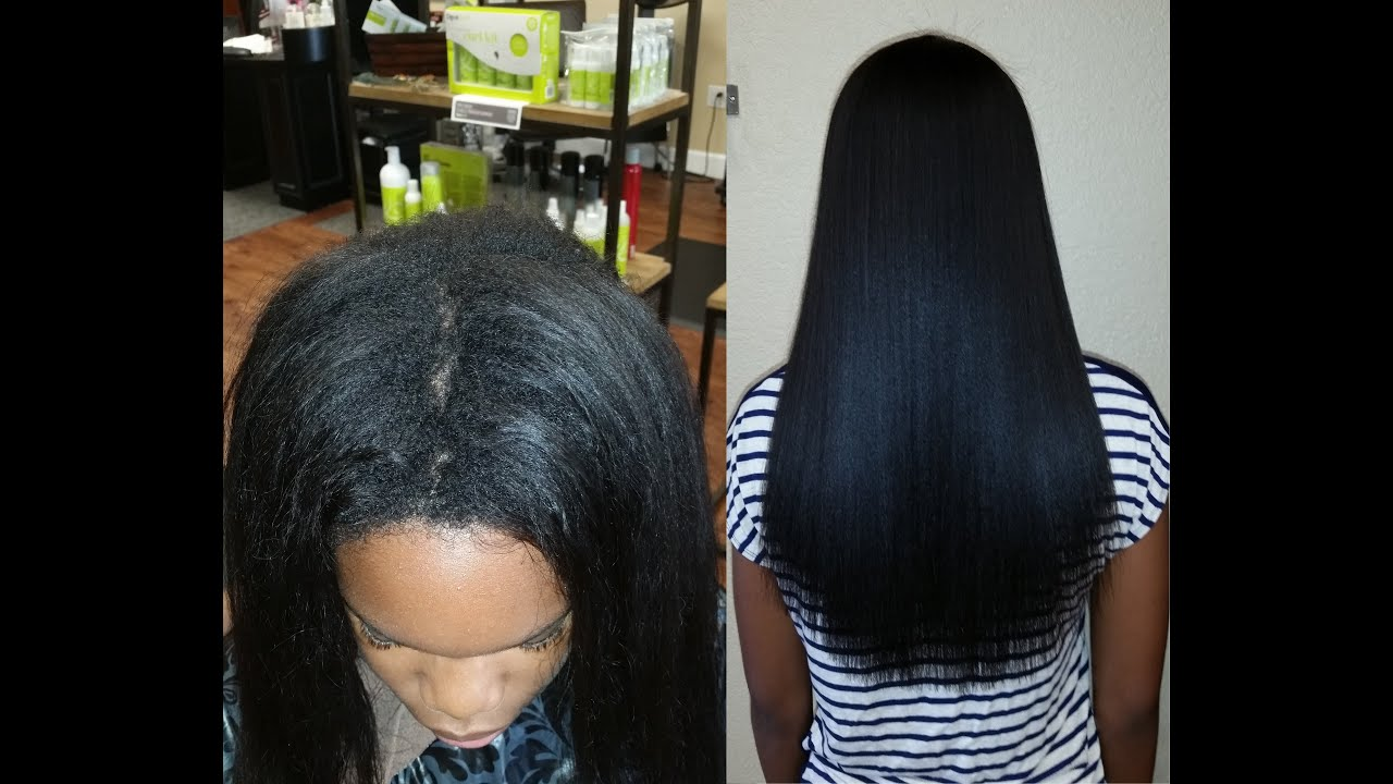 Part 2 Touchup Update Japanese Hair Straightening Thermal