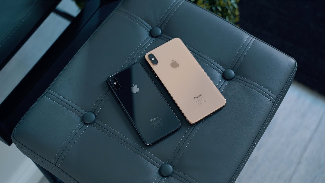 iphone xs vs iphone xs max space grey gold youtube