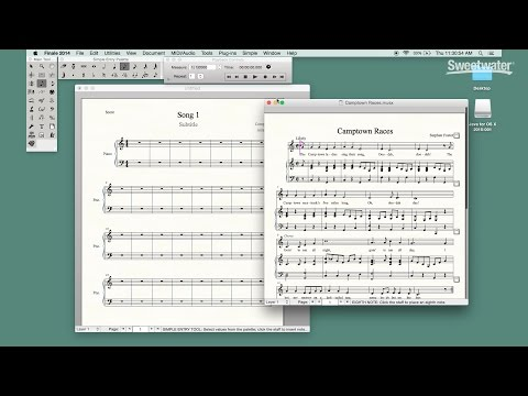 MakeMusic Finale Tips and Tricks by Sweetwater