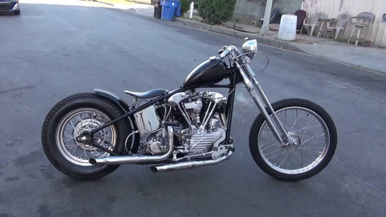 Harley Davidson: Hunting Harley's. 1940 EL Knucklehead Bobber Part 1