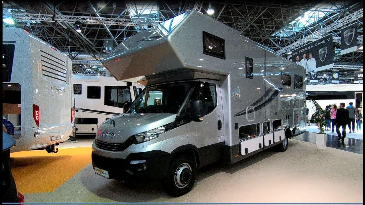Phoenix Maxi Alkoven 9 BMRSLX motorhome Iveco Daily RV Camper walkaround  and interior K9