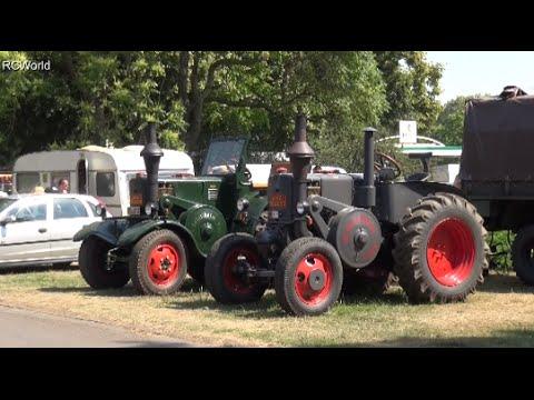 Lanz Bulldog Schlepper Treffen Meeting 2015 Leipzig AGRA Dampf Diesel Traktoren Steam