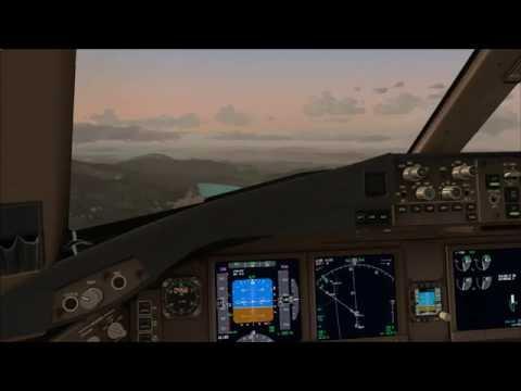 [FSX] PMDG 777-300ER   Bangkok (VTBS) to Hong Kong (VHHH)