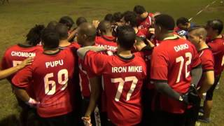 PFL RHINOS VS RED SHARKS SEMANA 5 2015 2016