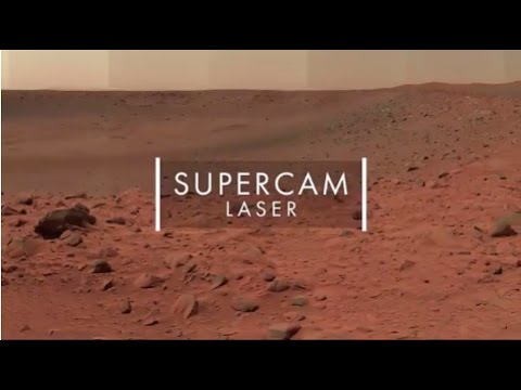 SuperCam laser by Thales
