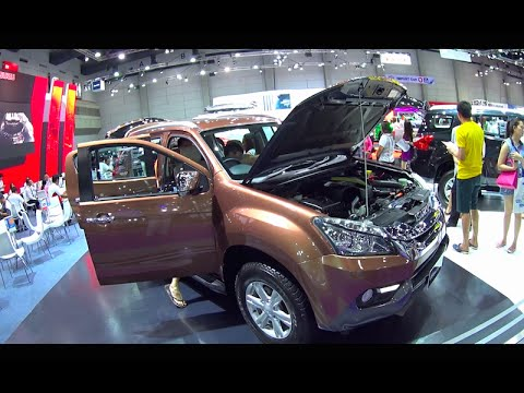 New SUV Isuzu Mu-X 2016, 2017
