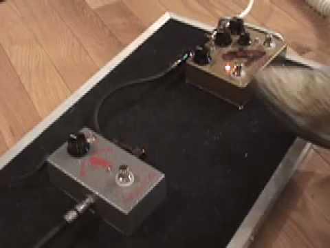 Analogman Sunlion vs Beano Boost pedal shootout w clean tone