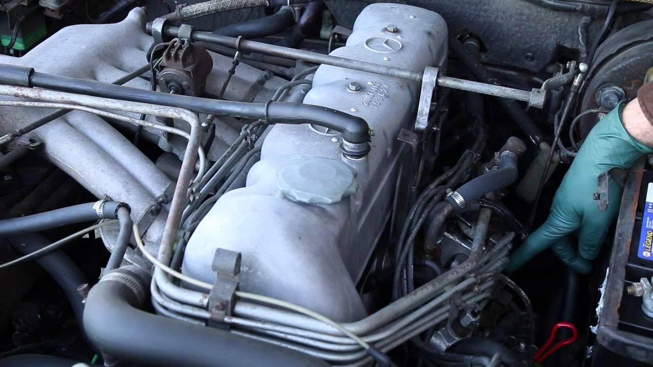 1968 Mercedes 280SEL M130 6 Cylinder Engine: Classic Series '50 to '74 Part 13  YouTube
