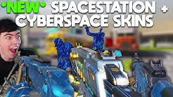 *NEW* SPACESTATION MSMC + LK24 / RPD CYBERSPACE + REAPER PUZZLE SKINS in COD Mobile!