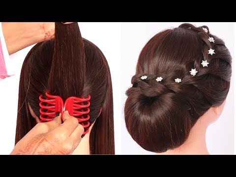 8-quick-hairstyle-for-wedding-guest-||-hairstyle-for-women-||-cute-hairstyle-||-simple-hairstyle