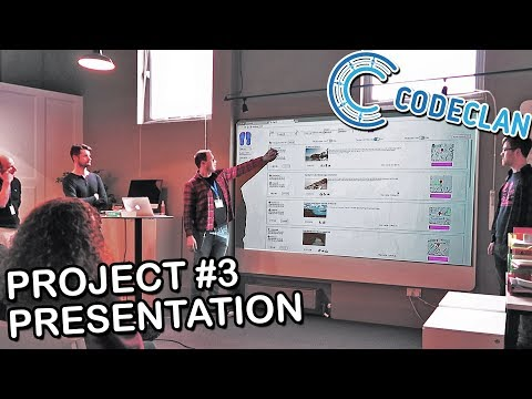 | THE ROAD TO CODE | Week 14: Full Group Project (JavaScript) Presentation | CodeClan Edinburgh |