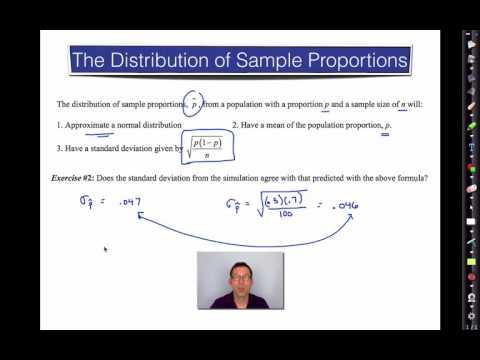 Common Core Algebra II.Unit 13.Lesson 9.Distribution of Sample Proportions