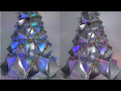 Easy & Inexpensive Christmas Tree idea🎄 | Recycled Christmas Tree🎄| Christmas Decor | DIY