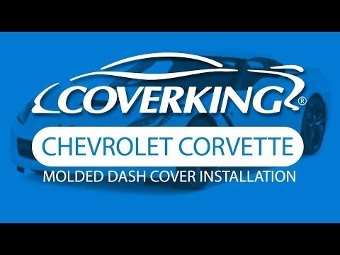 How To Install 2018 Chevrolet Corvette Molded Dash Cover | COVERKING®