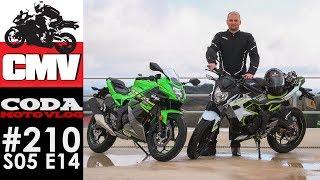Kawasaki Ninja 125 oraz Z125 - pierwsze wrażenia - CMV#210