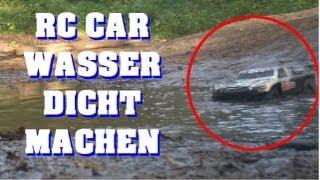 RC Car wasserdicht und winterfest machen - Regler Servo Empfänger Akku - Darconizer RC