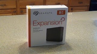 Seagate Expansion Desktop 8TB External Hard Drive Unboxing & PS4 Expansion