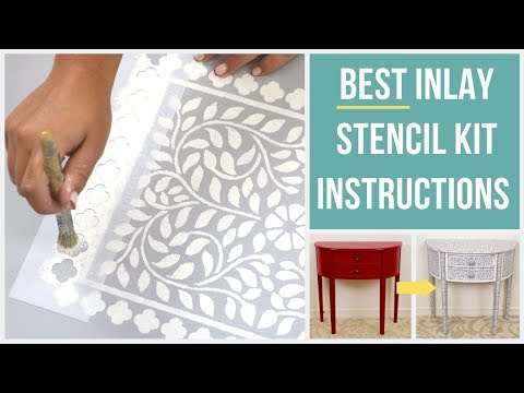 Everything You Need To Know About Inlay Stencils
