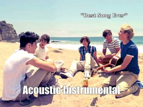 One Direction - Best Song Ever (Acoustic Instrumental)