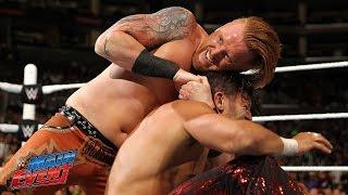 Heath Slater vs. Fandango: WWE Main Event, March 28, 2015
