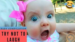 Best Baby Video, Try Not to Laugh - Fun Baby Fails!