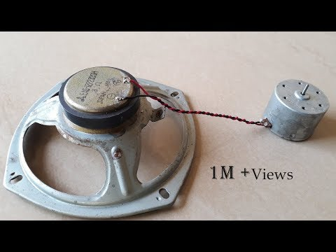 Free Energy Generator in Speaker Magnet