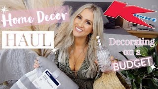 KMART DECOR HAUL || AFFORDABLE HOMEWARES & DECORATING ON A BUDGET