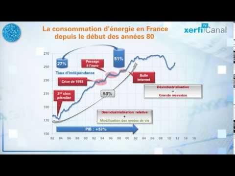 [Xerfi] 30 ans de consommation d'énergie en France