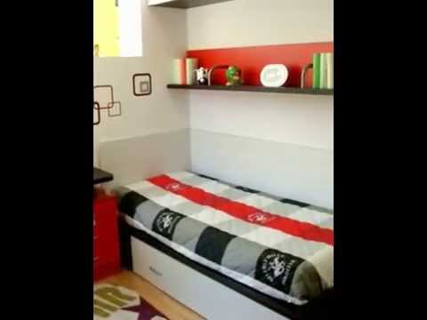 Cama nido para adolescentes dormitorios con dos camas for Camas para chicos