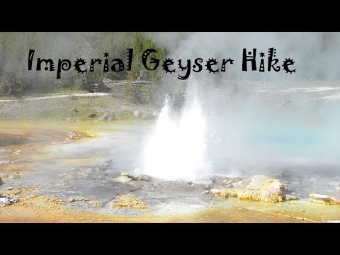 Yellowstone Nation Park - Fairy Falls/Imperial Geyser Hike 2013 - Park Travel Review