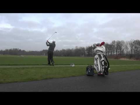 Golf Soren Kjeldsen portraet grafik